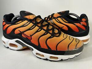 Nike Air Max Plus Tn OG Sunset Pimento Orange Tiger Black Mens Size 11 Rare