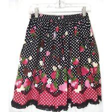 Bodyline lolita Skirt Woman's Size Medium Valentine Themed Polkadot