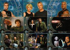 Stargate SG-1 Season 8 Full 72 Card Base Set of Trading Cards - Rittenhouse