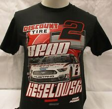 Brad Keselowski #2 Discount Tire Nascar Officially Licensed Drivers T-Shirt