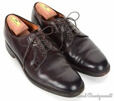 BROOKS BROTHERS Alden Burgundy SHELL CORDOVAN Mens PTB Dress Shoes - 10 C