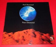 Paul Desmond -- pure Desmond -- LP/Jazz/CTI label
