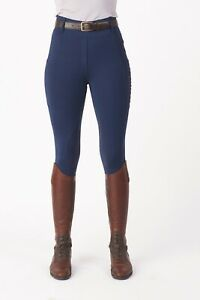 Just Togs Equinox Rider Tights - Navy only £34.99