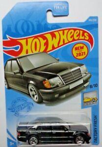 2021 Hot Wheels FACTORY FRESH 8/10 Mercedes-Benz 500 E 145/250