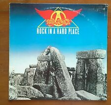 "AEROSMITH-Rock in a Hard Place-""the Bad Boys from Boston""-L6-LP"