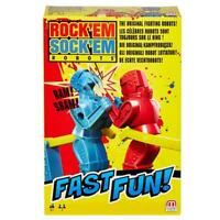 ROCK'EM SOCK'EM ROBOTS FAST FUN MATTEL ORIGINAL FIGHTING ROBOT TRAVEL GAME