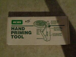 RCBS HAND PRIMING TOOL NO BOWL