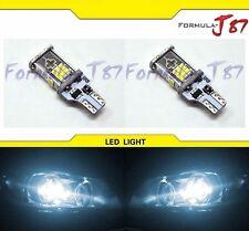 LED Light Error Free Canbus 912 White 6000K Two Bulbs Back Up Reverse Under Hood