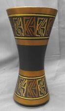 Old vintage Dumler & Breiden German ceramic art pottery vase Mid Century modern