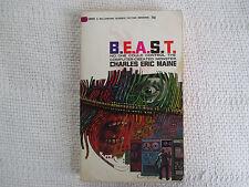 1967 B.E.A.S.T. Charles Eric Maine  paperback VG/FN Ballantine U6092 1st edition