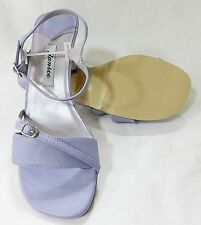 Women prom party sandals strappy heel size 8.5 purple new