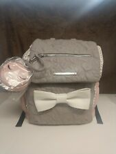 Betsey Johnson Backpack/Baby Bag *Designer 3 Piece Set Faux Leather* NEW w/TAGS!
