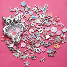 Glass Stainless Steel Charms & Charm Bracelets