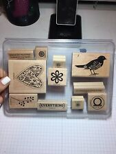 Stampin Up Always stamp set- RETIRED, used but good condition