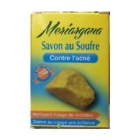 Savon au soufre contre l'acnée / Sulfur soap Against Acne