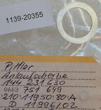 PITTLER Anlaufscheibe 144 231 630 (D-11996/02) - 2 Stück -