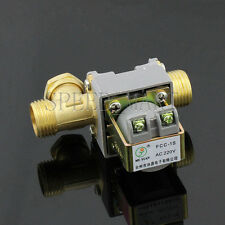 Ac220v Electric Solenoid Valve For Water 12 Electric Magnetic Valve Brand New