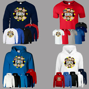FGteev Gurkey Funnel Vision Mens T Shirt Hoodie Sweat Gaming Youtuber Kids Tee