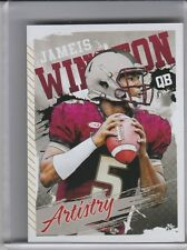 2015 SAGE HIT #ART11 JAMEIS WINSTON ROOKIE RC FLORIDA STATE & BUCCANEERS 8195