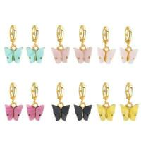 Butterfly Earrings Dangle Drop Insect Charm Jewellery Women Girls M9S0