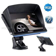 XGODY 7'' GPS Navigation System Car Truck LGV SAT NAV Lifetime Map BT USB