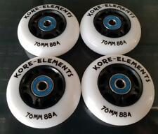 4 RIPSTIK / RIPSTICK SKATE SURFER 76mm 88a REPLACEMENT WHEELS + ABEC 9 BEARINGS