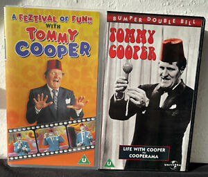 X2 A Feztival of Fun with Tommy Cooper / Life With Cooper/ Cooperama- VHS