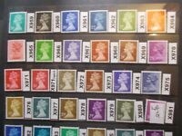 GB 1971> Specialised Machin Collection(24)~X959-X981~Unmounted Mint~G~UK
