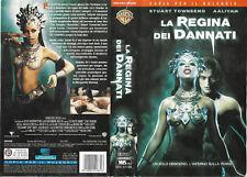 LA REGINA DEI DANNATI (2002) vhs ex noleggio