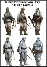 1/35 Resin Model Kit German Infantry WW2