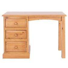 Dressing Table with 3 Drawers Delphi Premium Solid Pine Bedroom Furniture