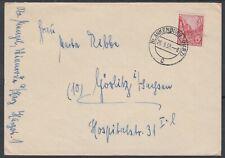 26942) BLANKENBURG (HARZ) 1956 Brief nach Görlitz