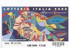 Biglietti Lotteria Italia - Nespolo - 2004
