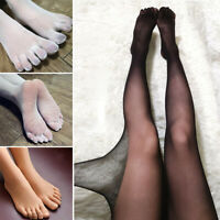 Thin 5 Fingers Separate Toe Nude Color Pantyhose Tights Hosiery Nylon Seamless