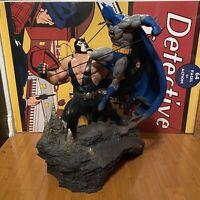 Batman vs Bane Statue Iron Studios (Read Description)