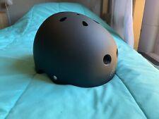 Triple Eight 3036 Dual Certified Helmet, X-Small , All Black Rubber