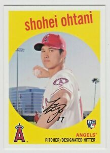 2018 Topps Archives #50 Shohei Ohtani RC Rookie Card