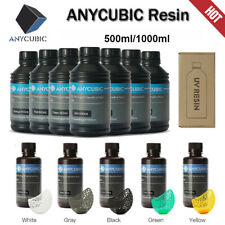 UV Sensitive Resina For Anycubic LCD Photon Photon S Stampante 3D grigio bianca