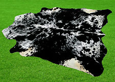 """New Cowhide Rugs Area Cow Skin Leather  (51"""" x 57"""") Cow hide SA-711"""