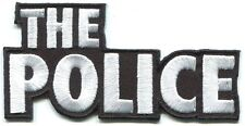 The Police logo Embroidered Iron-On Patch *Free Shipping* sting synchronicity