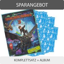 PANINI sticker Dragons 3-il libro dei draghi FIDASS BOOSTER selezione