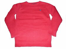 C & A toller Strick Pullover Gr. 128 rot !!
