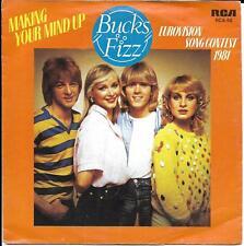45T SP BUCKS FIZZ EUROVISION 81 MAKING YOUR MIND UP IMPORT HOLLANDE !!!!!!