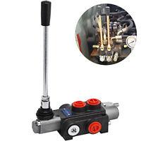 1 Spool Hydraulic Directional Control Valve 11gpm 4300Psi Adjustable Monoblock