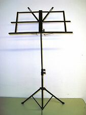 Prestini music stand adjustable-music score holder and carrying gig bag -NEW