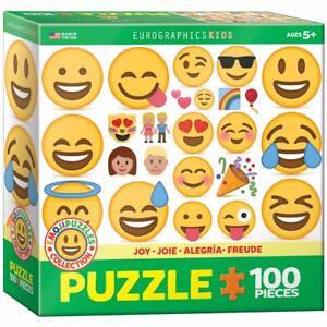 EuroGraphics Joy Emoji Puzzle Jigsaw Puzzle (100-Piece)