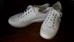 Candice Cooper Damen Sportschuhe Sneakers, weiss,  Gr. 39, Leder