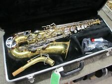 Good Selmer-Bundy II USA Alto Saxophone Outfit, Ready to Play Sax, Why Rent?