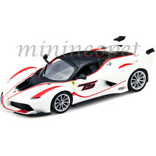 BBURAGO 18-26301 FERRARI RACING FXX K #75 1/24 DIECAST MODEL CAR WHITE