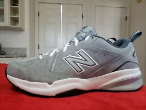 New Balance Mens 619 MX619GR2 Gray Running Shoes Lace Up Low Top Size 9. New!!